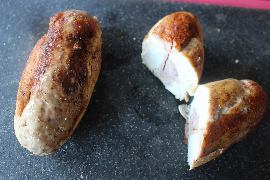 Ballotine de poulet