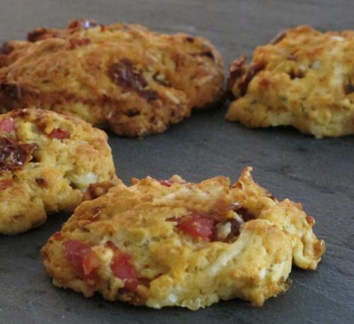 Cookies salés (par Capucine)