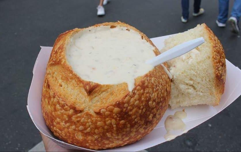 Clam Chowder (soupe de palourdes)